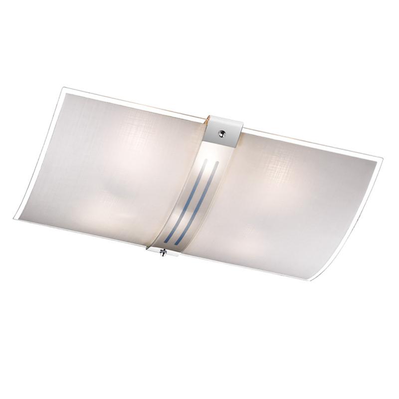 Sonex 8210 FBK06 101 белый/хром Н/п светильник E27 8*60W 220V DECO