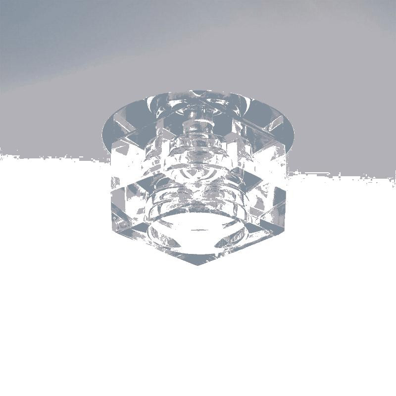 Lightstar 004060 Светильник ROMB CR G4 ХРОМ/ПРОЗРАЧНЫЙ, шт