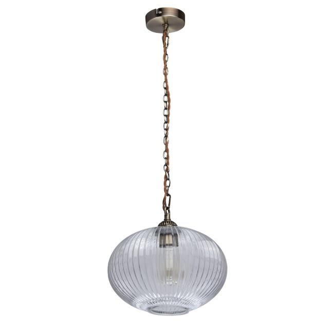 MW-Light 481012201 Аманда бра аманда 1 х 60вт e27 220в бронза антик стекло подвеска