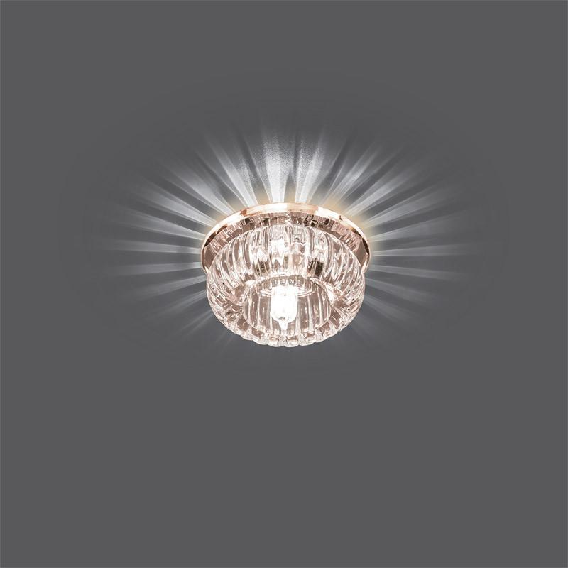 Фото Gauss Светильник Gauss Backlight BL020 Кристал, G9, LED 2700K 1/30. Купить с доставкой
