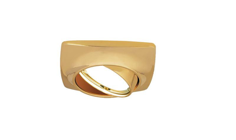 Gauss Светильник Gauss Metal Exclusive CA070 Круг. Золото, Gu5.3 1/100