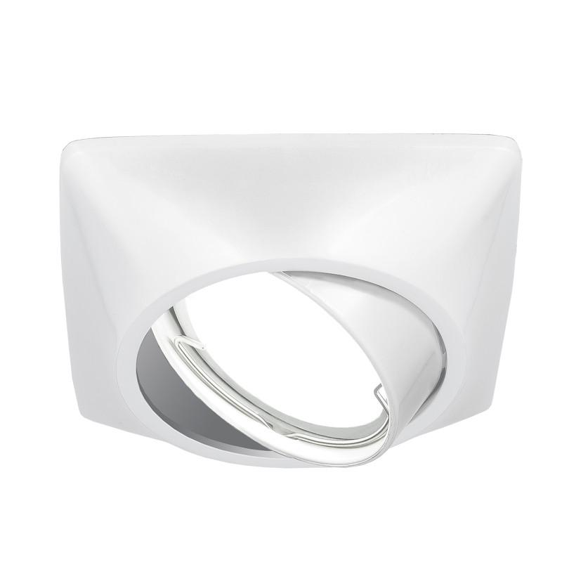 Gauss Светильник Gauss Metal Exclusive CA075 Круг. Белый перламутр, Gu5.3 1/100 gauss светильник gauss metal exclusive ca063 круг золото gu5 3 1 100