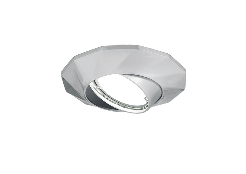 Gauss Светильник Gauss Metal Exclusive CA081 Круг. Хром, Gu5.3 1/100 gauss светильник gauss metal exclusive ca063 круг золото gu5 3 1 100