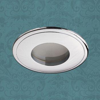 Novotech 369303 NT09 289 хром Встраиваемый НП светильник IP65 GU5.3 50W 12V AQUA novotech aqua 369303