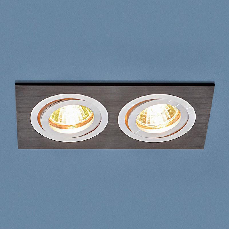 Elektrostandard Точечный светильник 1051/2 BK черный точечный светильник philips led 2 5 3 5w3