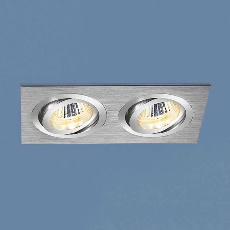Elektrostandard Алюминиевый точечный светильник 1011/2 MR16 CH хром точечный светильник philips led 2 5 3 5w3