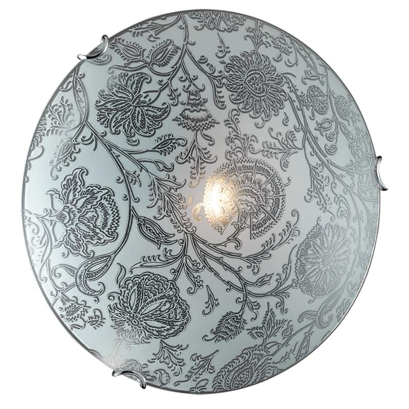 Sonex 279 SN16 033 хром/белый/декор Н/п светильник E27 2*100W 220V VERITA
