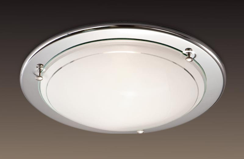 Фото Sonex 114 SOK06 116 хром Н/п светильник E27 100W 220V RIGA. Купить с доставкой
