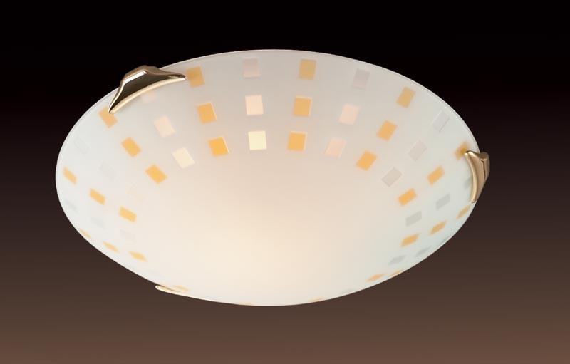 Sonex 363 FB06 049 золото Н/п светильник E27 3*100W 220V QUADRO AMBRA настенный светильник sonex floret 049