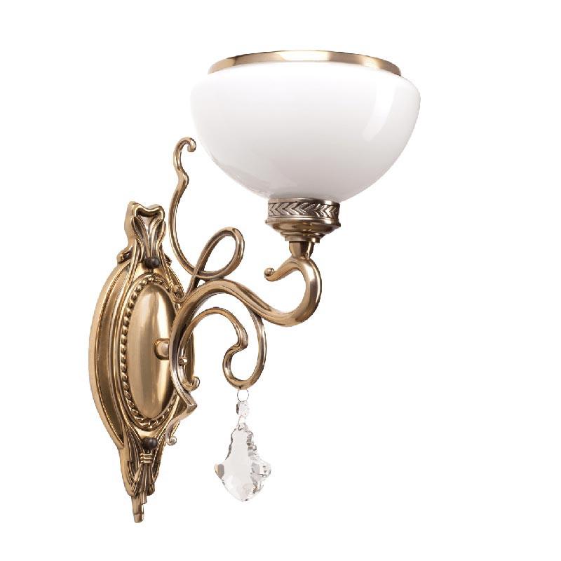 Chiaro 481020401 Аманда бра аманда 1 х 60вт e27 220в бронза антик стекло подвеска