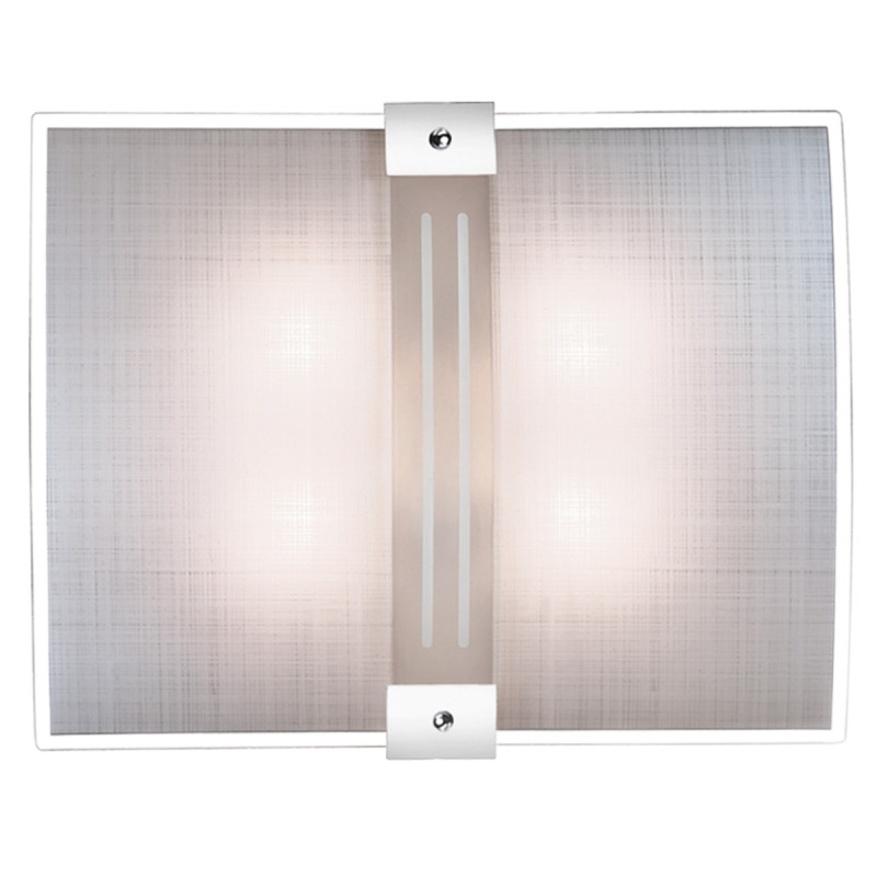 Sonex 4110 FBK06 101 белый/хром Н/п светильник E27 4*60W 220V DECO