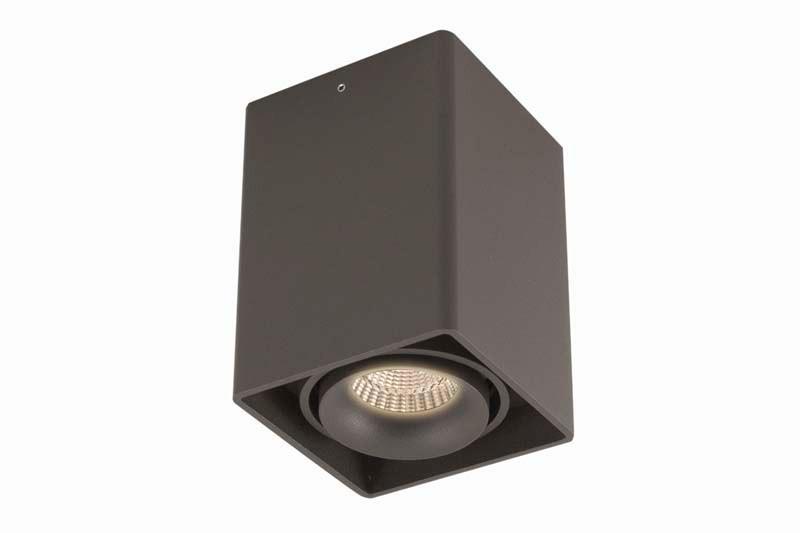Donolux DL18611/01WW-SQ Shiny black накладной светильник donolux dl18611 01ww sq shiny black