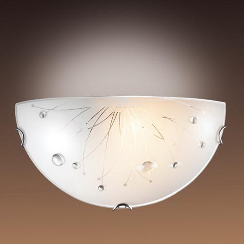 Sonex 005 SN14 044 хром/белый/декор прозрачн Бра E27 100W 220V LIKIA sonex настенный светильник sonex likia 005