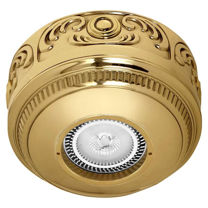 Fede FD15-LEOB Накладной точечный светильник из латуни ROMA Surface, блестящее золото светильник точечный накладной коллекция vitoria surfase fd1012sob латунь блестящее золото fede феде
