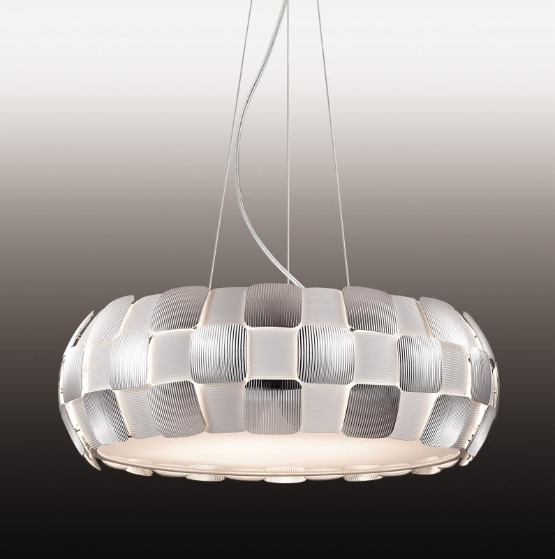 Odeon Light 2860/8 ODL16 122 белый/хром/пластик  Люстра   Е27 8*24W 220V RALIS