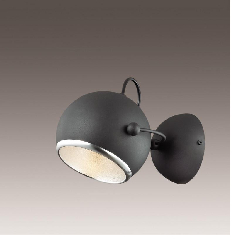 Odeon Light 2904/1W ODL16 113 черный матовый/металл Бра E27 60W 220V BULA бра odeon light 2904 1w