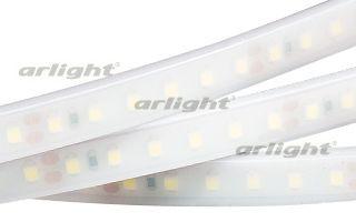 Arlight Лента RTW 2-5000PW 24V Day White 2x (3528, 600LED, LUX) arlight лента rt 2 5000 12v s cool 5mm 2x 3528 600led lux