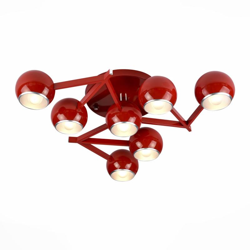 ST-Luce Светильник потолочный потолочный светильник avantgarde попурри 37276 цветок красный
