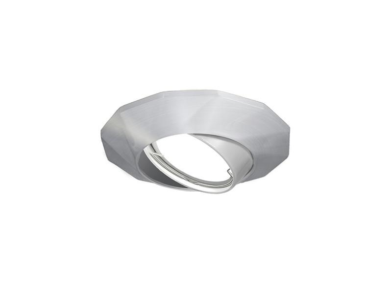 Фото Gauss Светильник Gauss Metal Exclusive CA080 Круг. Матовый алюминий, Gu5.3 1/100. Купить с доставкой