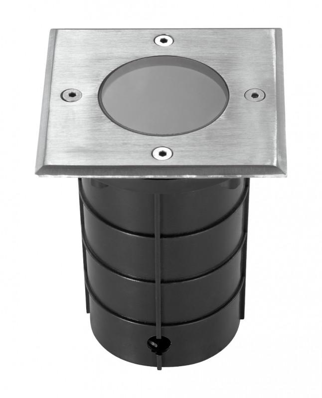 Фото Novotech 369952 NT14 081 черный Ландшафтный светильник IP67 GU10 50W 220V GROUND. Купить с доставкой