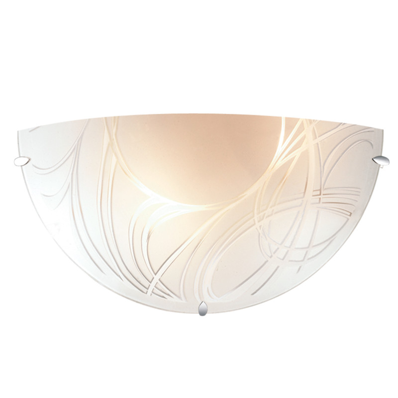 Sonex 1206 SN14 049 хром/белый Н/п светильник E27 60W 220V TRENTA