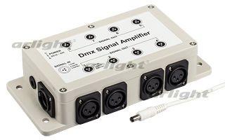 Arlight Усилитель сигнала LN-DMX-8CH (12/24V) martin dmx interface 128 ch rs485