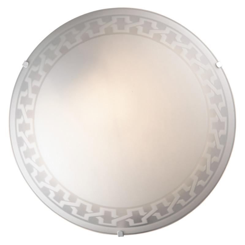 Sonex 1203/M SN14 123 белый Н/п светильник E27 60W 220V VASSA