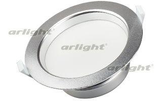 Фото Arlight Светильник IM-145 Silver 18W Warm White 220V dia 400mm 900w 220v w 3m psa