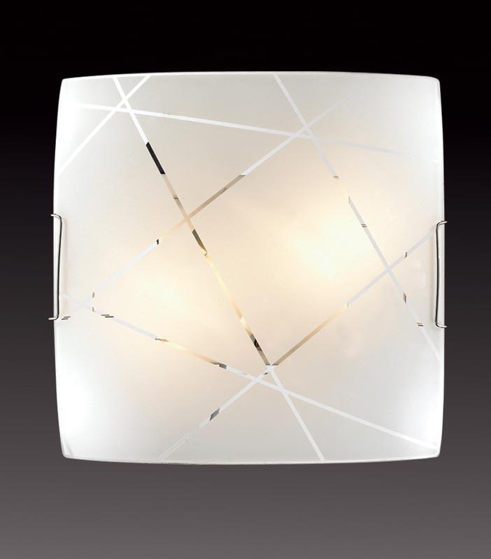 Sonex 2144 SN14 089 хром/белый Потолочн E27 2*100W 220V VASTO sonex 3144 sn14 073 vasto chrome white