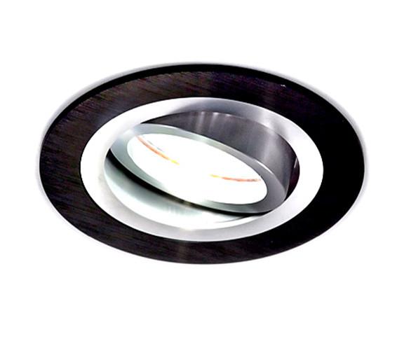 Donolux A1521-Alu/Black donolux встраиваемый светильник donolux a1521 alu black