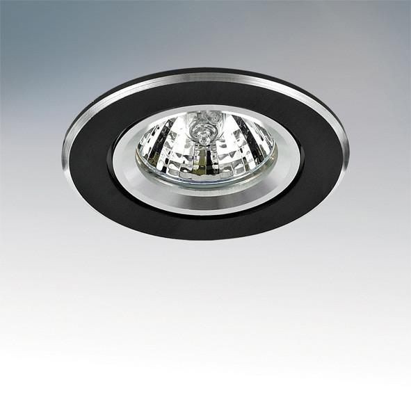 Lightstar 011007R Светильник BANALE WENG CYL MR16/HP16 ВЕНГЕ ХРОМ