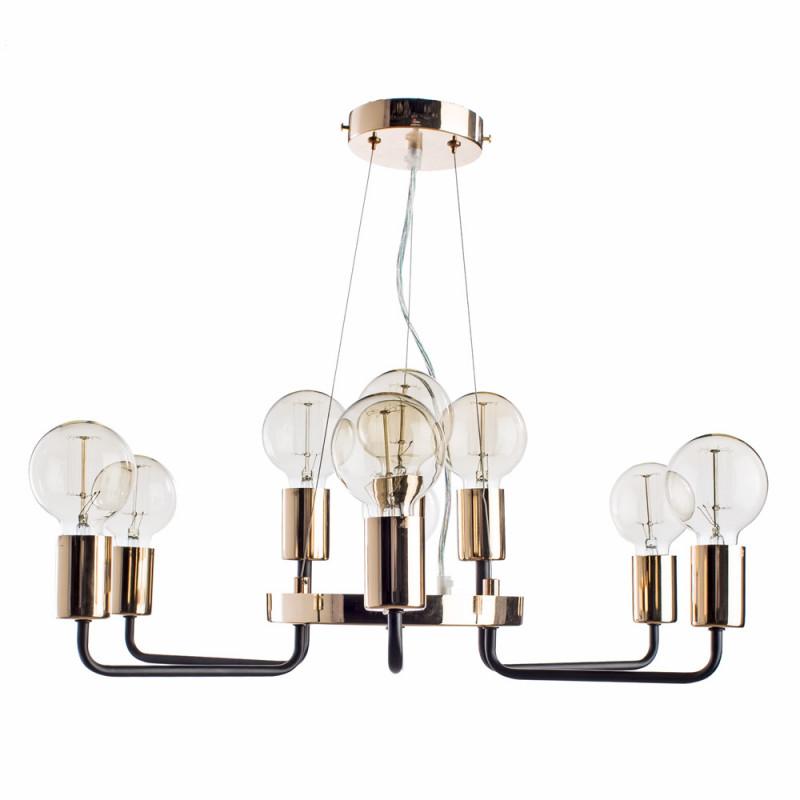 ARTE Lamp A6001LM-9BK подвесная люстра arte lamp gelo a6001lm 9bk