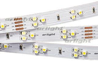 Arlight Лента RT 2-5000 24V White-TRIX 2x(3528,450 LED,LUX arlight лента rt 2 5000 12v s cool 5mm 2x 3528 600led lux