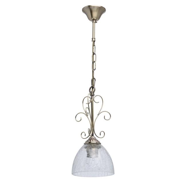 MW-Light 481012301 Аманда бра аманда 1 х 60вт e27 220в бронза антик стекло подвеска