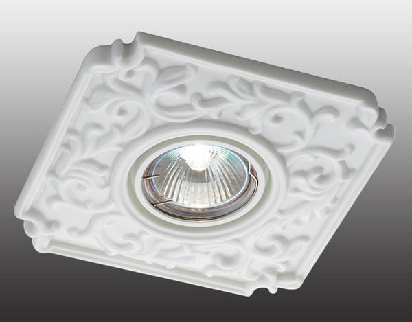 Novotech 369865 NT14 162 белый Встраиваемый светильник IP20 GU5.3 50W 12V FARFOR встраиваемый светильник novotech farfor 369865