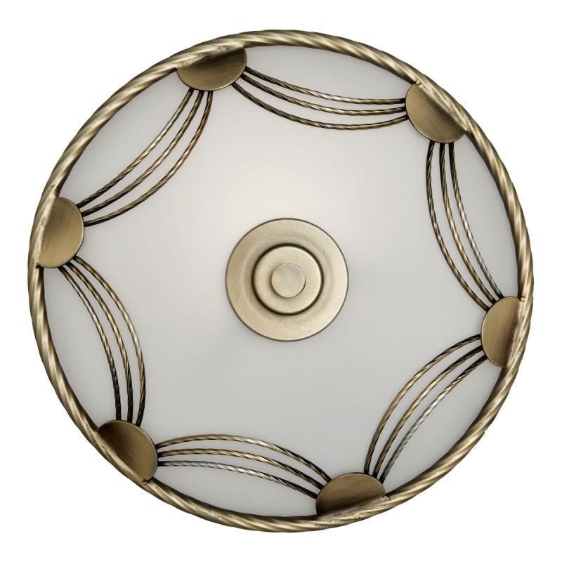 Sonex 3219 SN14 021 бронза/белый Потолочн E27 3*60W 220V SALVA накладной светильник sonex salva 1219