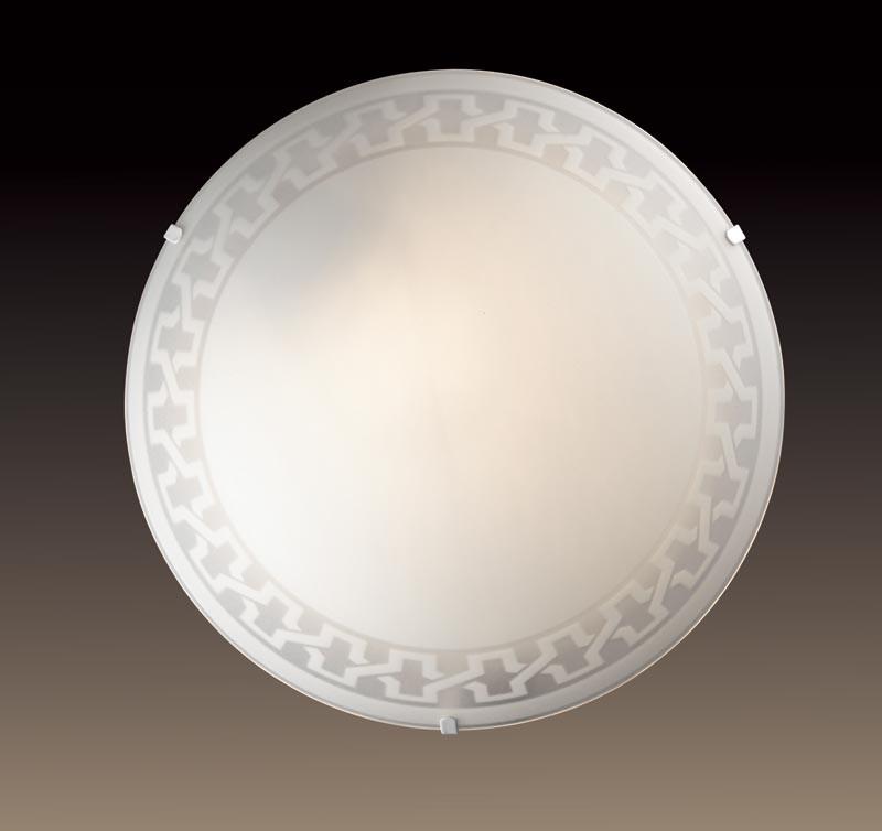 Sonex 1203/L SN14 123 белый Н/п светильник E27 60W 220V VASSA