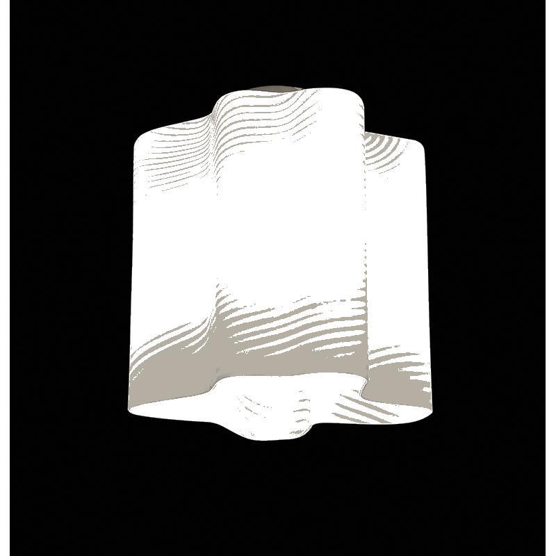 Lightstar 802011 (MC998-1) Светильник NUBI ONDOSO 1х40W E27 ХРОМ/БЕЛЫЙ ПОЛОСАТЫЙ, шт 4pcs wbt 0152ag 99 998