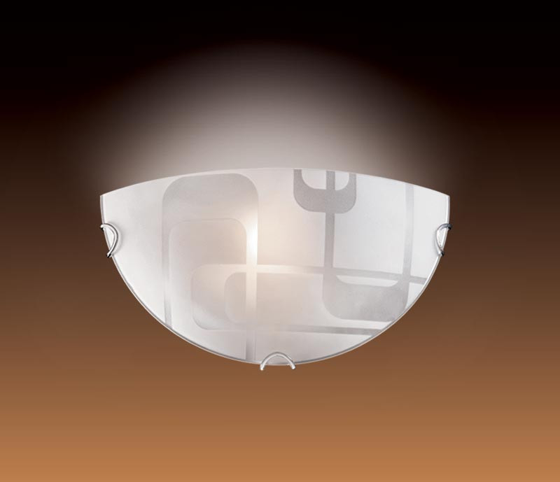 Sonex 057 FB09 058 белый/хром Бра E27 100W 220V HALO
