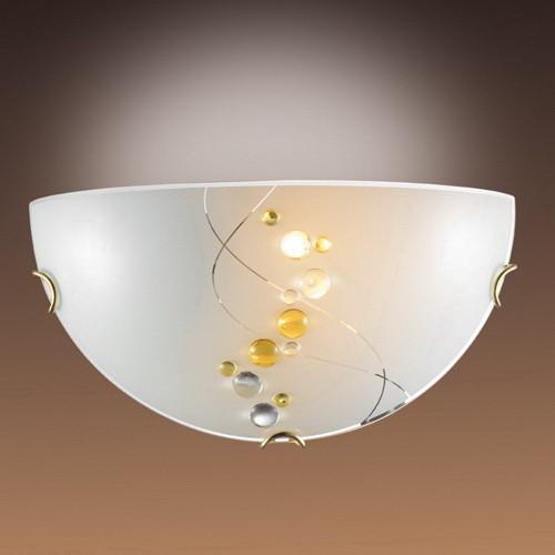 Sonex 007 SN14 042 золото/белый/декор желт Бра E27 100W 220V BARLI