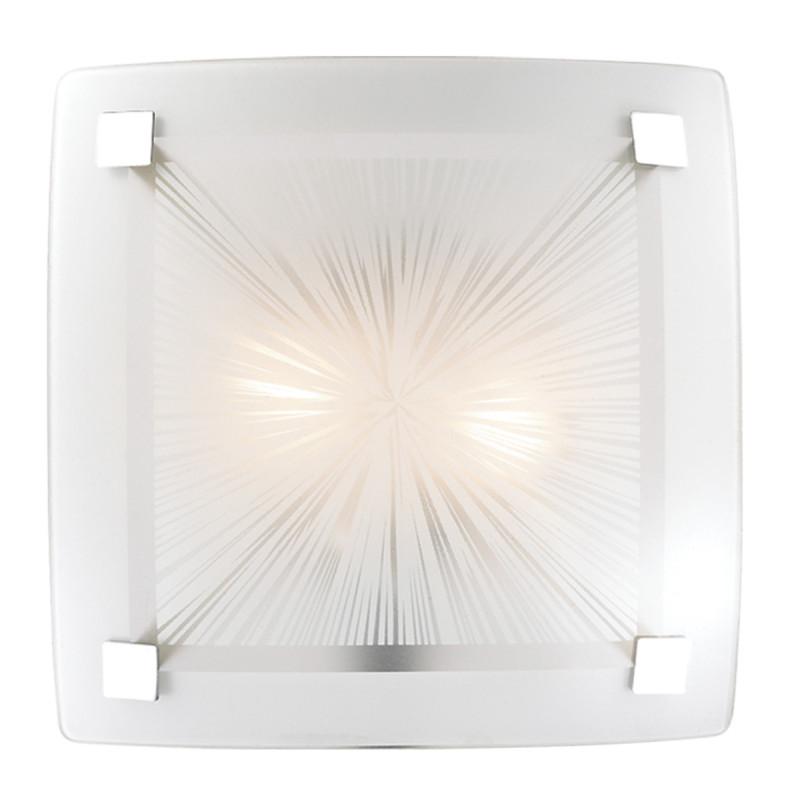 Sonex 2207 SN14 088 хром/белый Н/п светильник E27 2*60W 220V ZOLDI