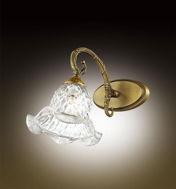 Odeon Light 2884/1W ODL16 009 бронзовый/стекло Бра E14 60W 220V VICTORI бра odeon light victori арт 2884 1w