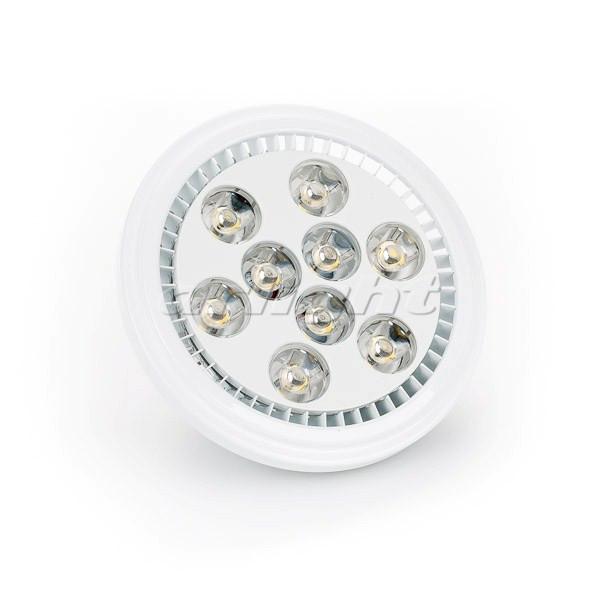 Arlight Светодиодная лампа MDSV-AR111-9x1W 35deg White 12V светодиодная лампа arlight 014137
