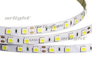 Arlight Лента 5 метров RTW 2-5000NC 24V White6000 2x (5060, 300 LED, LUX) arlight лента rtw 2 5000pw 24v white 2x 5060 300led lux