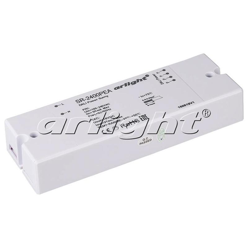 Arlight Блок питания ARV-SR-2400PEA (16V, 250mA, DALI) arlight блок питания arv dali 135d 12 12v 11 25a 135w dali pfc