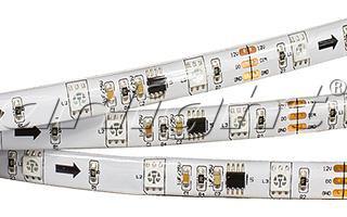 Arlight Лента 5 метров SPI-5000SE-AM 12V RGB (5060,150 LED x3,1804) лента arlight 022651