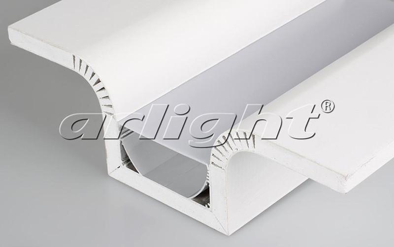 Arlight Декоративный Профиль 250 мм ARL-SLOT-ROUND-80-250 (ГКЛ 12.5мм)