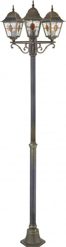 Favourite 1804-3F наземный низкий светильник favourite zagreb 1804 1f