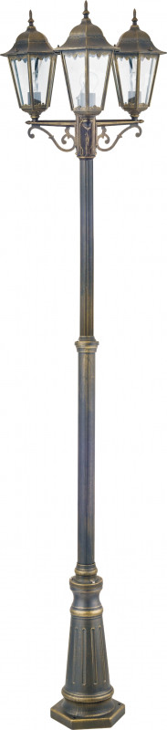 Favourite 1808-3F favourite уличный светильник favourite london 1808 1f