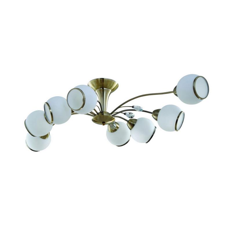 IDLamp 830/8PF-Oldbronze idlamp idlamp 830 8pf whitechrome